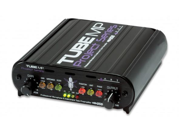 Pré-amplificador ART  Tube MP Project Series USB