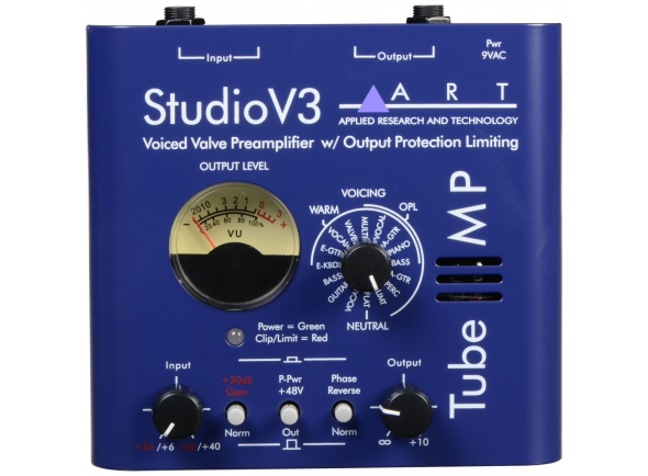 Pré-amplificador ART Tube MP Studio V3