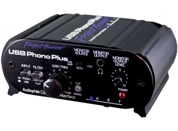 Interface Áudio USB ART USB Phono Plus PS