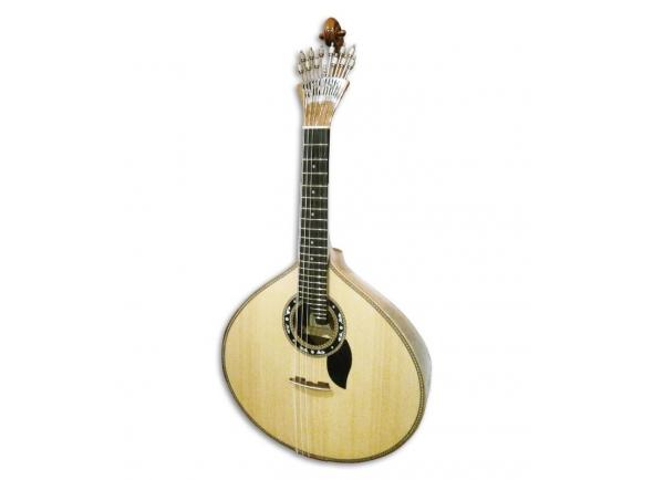 Guitarras de Fado Portuguesas Artimúsica 70720 Luxo Tampo Flandres Lisboa