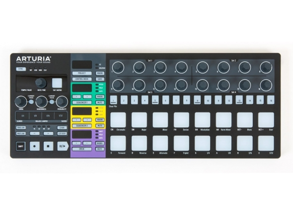 Sequenciadores de ritmos Arturia Beatstep Pro Black Edition B-Stock