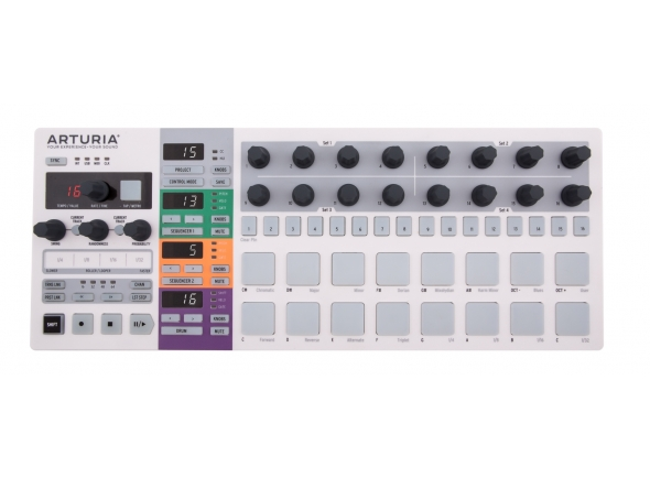 Teclados MIDI Controladores Arturia Beatstep Pro