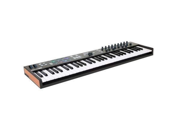 Teclados MIDI Controladores Arturia KeyLab Essential 61 Black Edition