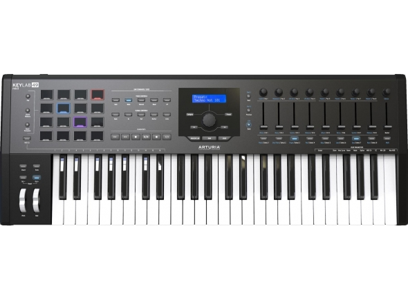 Teclados MIDI Controladores Arturia KeyLab MkII 49 Black