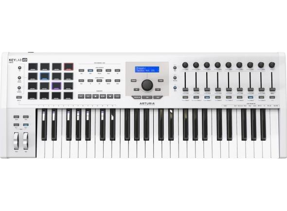 Teclados MIDI Controladores Arturia KeyLab MkII 49 White