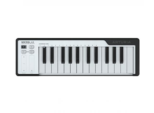 Controlador Midi/Teclados MIDI Controladores Arturia Microlab Black