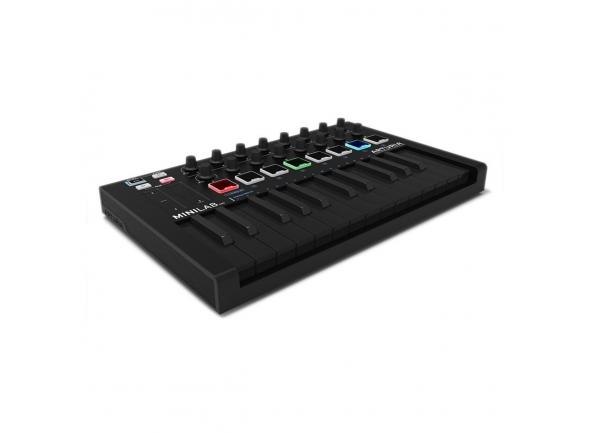 Teclados MIDI Controladores Arturia MiniLab Universal MKII Deep Black