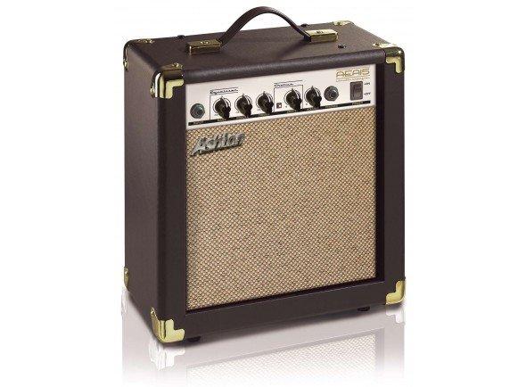 Amplificador Guitarra Acústica Ashton AEA15  Amplificador Guitarra Acústica 15W