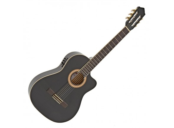 Guitarra Elétro-Acústica 4/4/Guitarras eletro acústica Ashton CG44CEQBK