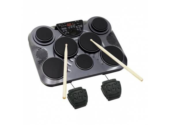 Bateria Eletrónica/Pads de Sampling e Percussão Ashton EDP450