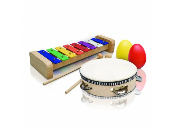 Kit Percussão Educacional Ashton PSET2  Kit Percussão Educacional