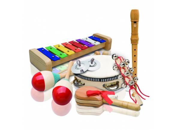 Kit Percussão Educacional Ashton PSET3  Kit Percussão Educacional PSET3