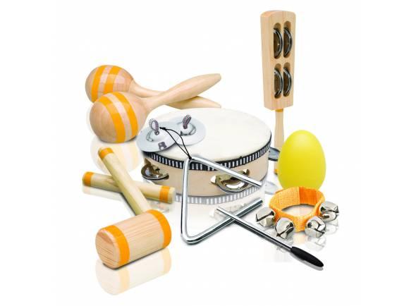 Kit Percussão Educacional Ashton PSET4  Kit Percussão Educacional PSET4