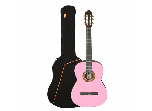 Guitarra Clássica (adulto) 4/4/Guitarra Clássica Ashton SPCG44 Pink