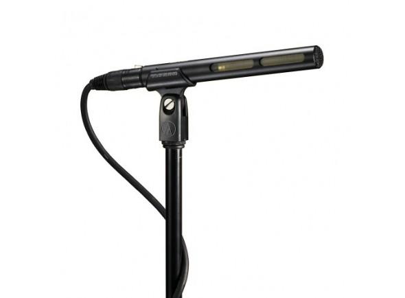 Microfone condensador direcional para câmaras e vídeo/Microfone para Câmara Audio Technica AT 875 R