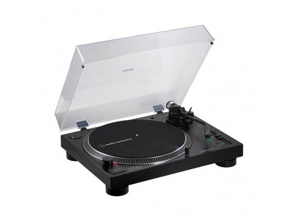 Gira-Discos de acionamento direto Profissional/Gira-discos  Audio Technica AT-LP120XBT-USBBK