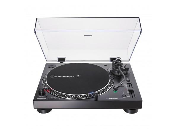 Gira-Discos de acionamento direto Profissional /Gira-discos  Audio Technica AT-LP120XUSBBK