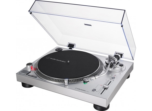 Gira-Discos de acionamento direto Profissional/Gira-discos  Audio Technica AT-LP120XUSBV