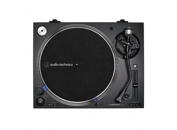Gira-Discos Profissional para DJ/Gira-discos profissionais de Dj Audio Technica AT-LP140XP Black