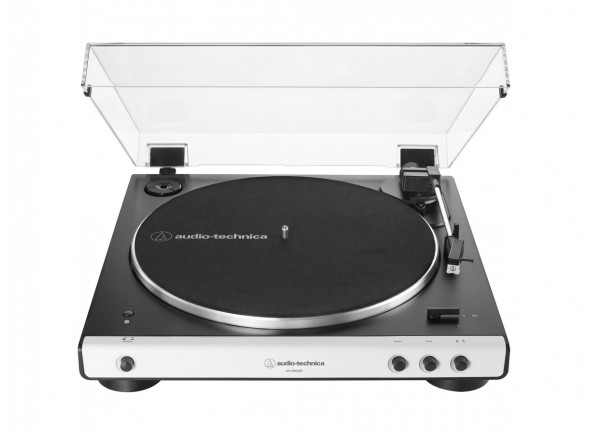 Gira-Discos automático sem fio de acionamento/Gira-discos  Audio Technica AT-LP60XBT WH