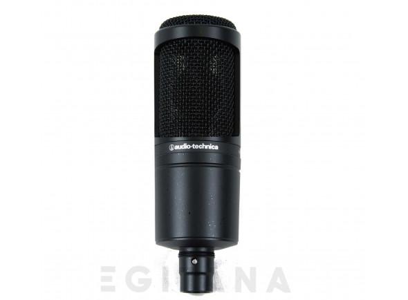 Microfone de Estúdio/Microfone de membrana grande Audio Technica AT2020