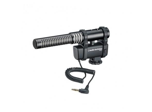 Microfone stereo/mono para câmaras e vídeo/Microfone para Câmara Audio Technica AT8024