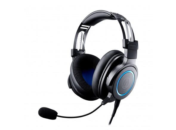 Auriculares fechado de Alta fidelidade para Videogames com microfone removível/HeadSets Audio Technica ATH-G1
