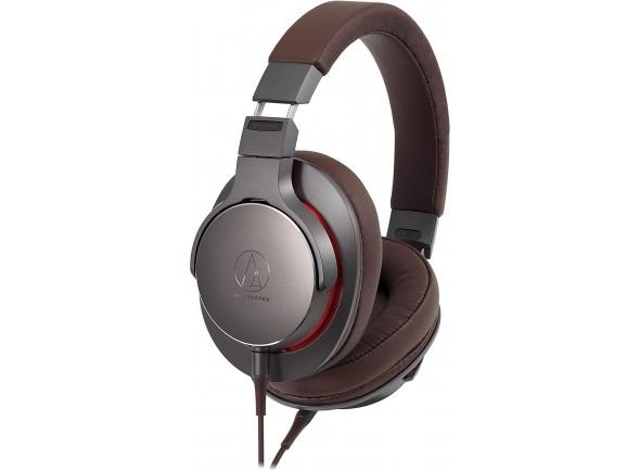 Auriculares Over-Ear em Alta Resolução/Auscultadores de alta-fidelidade Audio Technica ATH-MSR7b GM