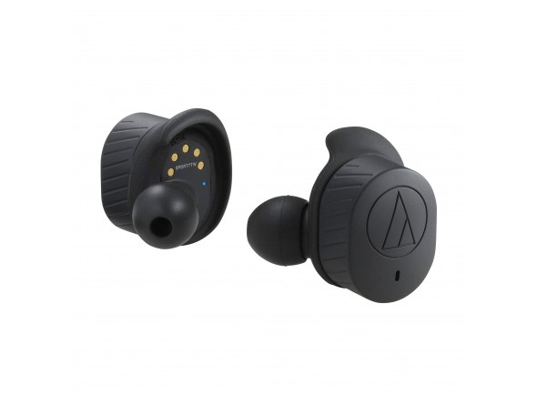 Auriculares In-Ear sem fio True Wireless/Auscultadores in ear Audio Technica ATH-SPORT7TW BK