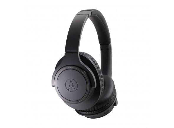 Auriculares Over-Ear sem fio/Auscultadores sem fio Audio Technica ATH-SR30BT BK