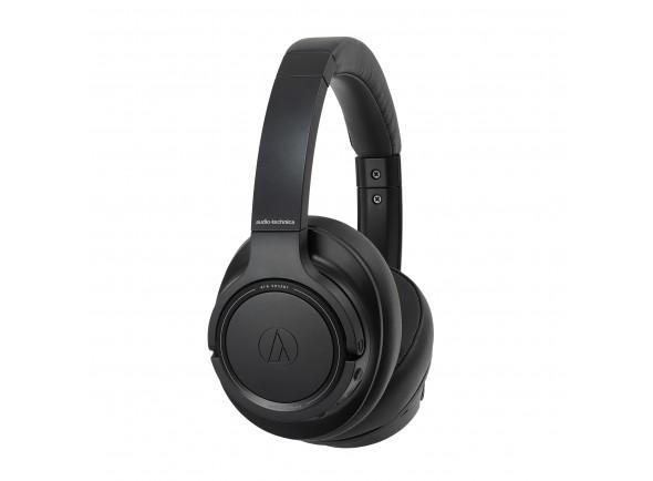 Auriculares sem fio com redução de ruído/Auscultadores sem fio Audio Technica ATH-SR50BT BK B-Stock