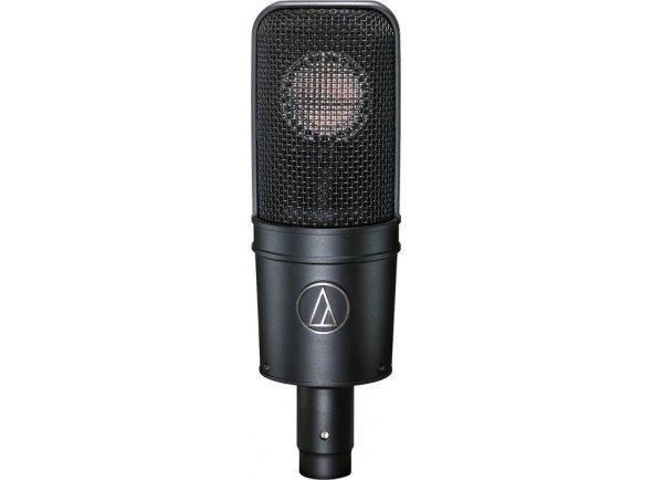 Microfone de membrana grande/Microfones de estúdio Audio Technica ATM 4040
