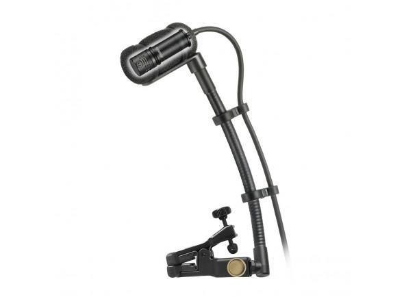 Microfone para instrumentos de corda Audio Technica  ATM350UcW Microfone para instrumento c/ sistema de montagem universal