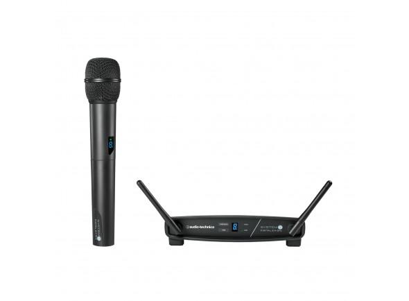 Sistema de Wireless/Sistema sem fios com microfone de mão Audio Technica ATW-1102