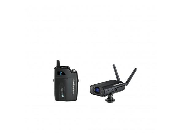 Sistemas sem fios para microfone de lapela /Sistema sem fio com microfone lapela Audio Technica ATW-1701