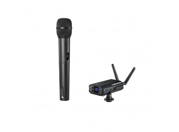 Sistemas sem fios para microfone de mão/Sistema sem fios com microfone de mão Audio Technica ATW-1702