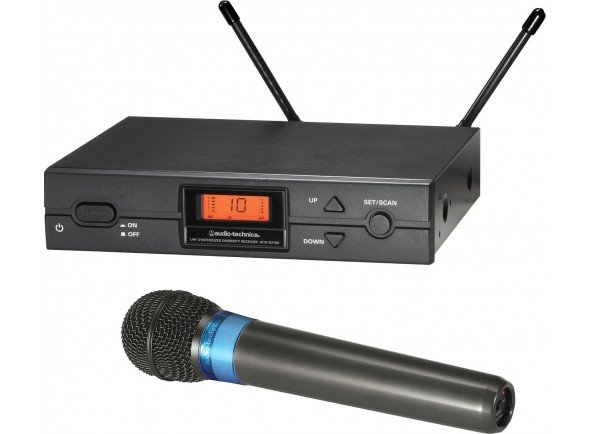 Sistema sem fios com microfone de mão/Sistema sem fios com microfone de mão Audio Technica ATW2120 B-Stock