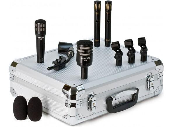 Conjunto de microfones para bateria Audix DP-Quad