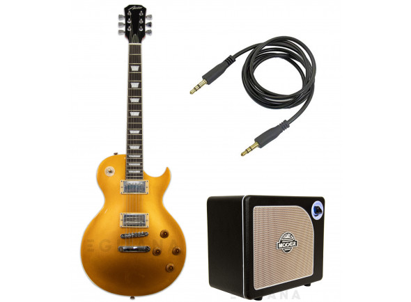 Packs de guitarra  Austin AS6PGT Super 6 Gold Top Pack