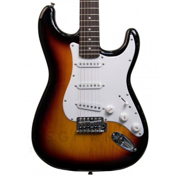 Guitarras formato ST Austin AST100 Sunburst