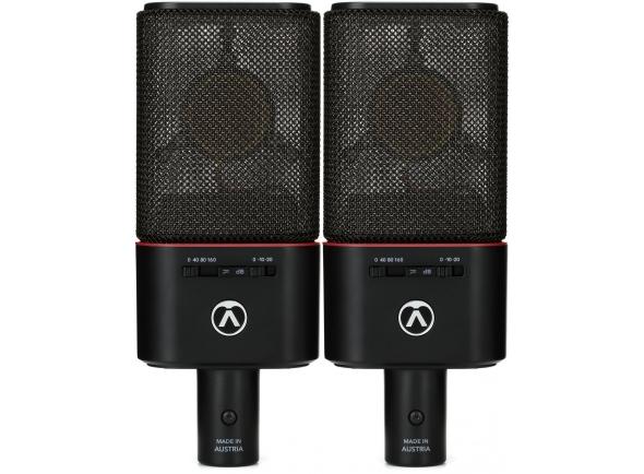 Microfone de membrana grande Austrian Audio OC18 Live Set