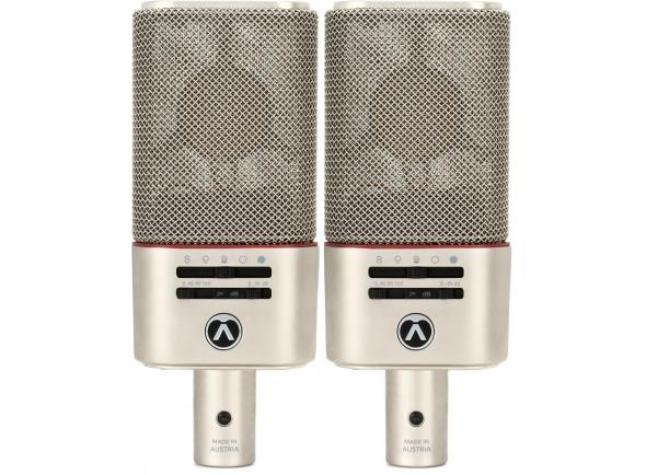 Microfone de membrana grande Austrian Audio OC818 Live Set