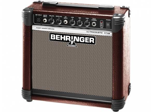 Behringer Amplificador Guitarra Acústica AT108  Amplificador Guitarra Acústica AT108
