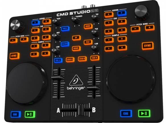 Ver mais informações do Controladores DJ Behringer Controlador DJ CMD Studio 2A