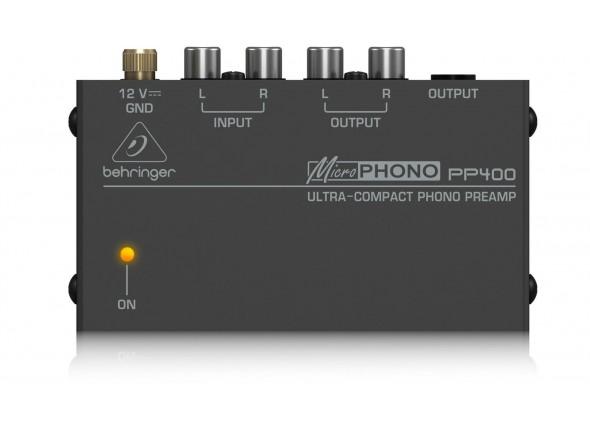 Amplificadores para auscultadores  Behringer PP400