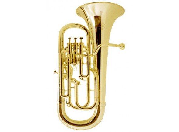 Bombardino Besson BE165-1 Student Euphonium  Besson Student Line oferecem um excelente começo para as carreiras dos aspirantes a tocadores de euphonium.