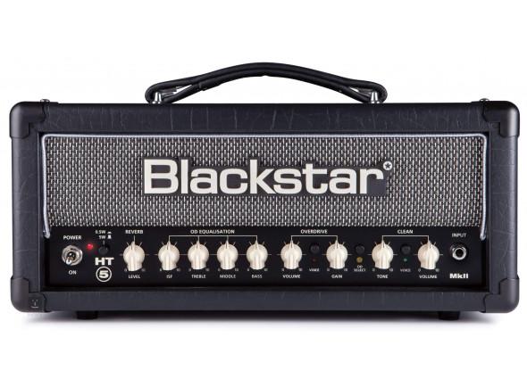Cabeça de amp de tubo para guitarra elétrica/Cabezas de guitarra de tubo Blackstar  HT-5RH MkII