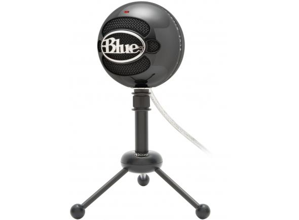 Microfone de membrana grande Blue Snowball Black