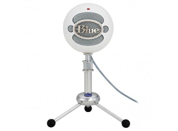 Microfone de membrana grande Blue Snowball White