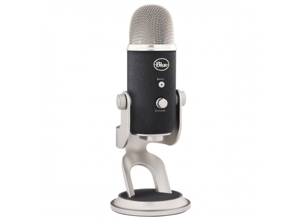 Microfone de membrana grande Blue Yeti Pro Studio